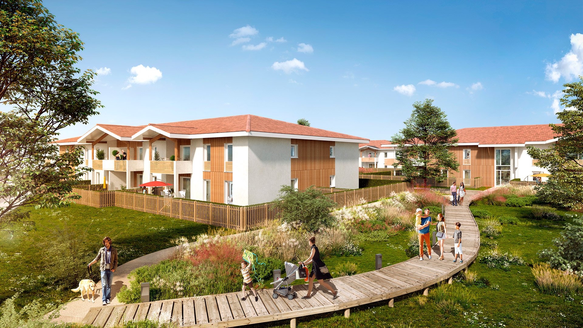 Hameau de Lehna à Seignosse - SAGIM Immobilier