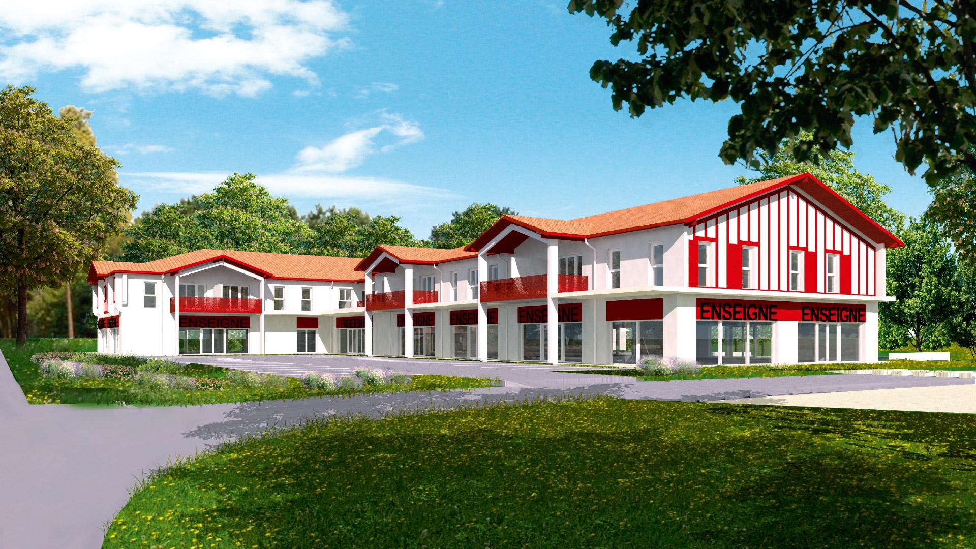 Résidence Alaia - aperçu commerce - SAGIM Immobilier