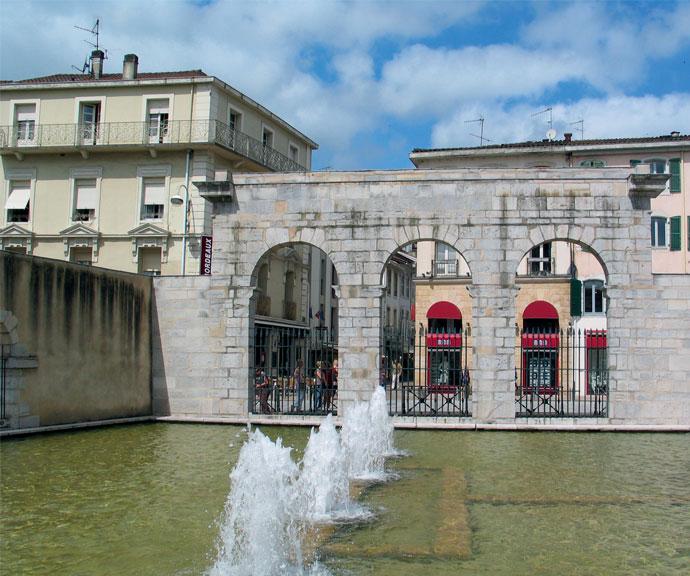 Fontaine d'eau chaude - Dax - SAGIM Immobilier