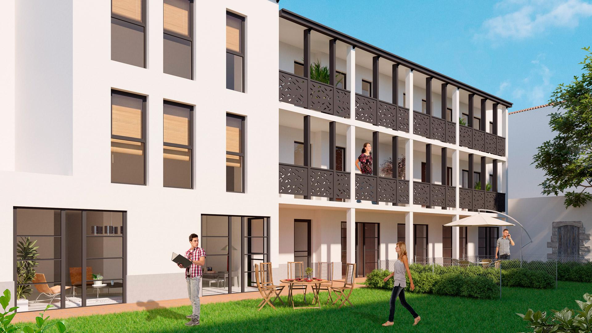 Residence Trinquet à Bayonne - SAGIM Immobilier